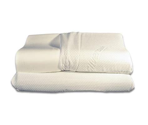 cuscino ortocervicale coppia di cuscini in memory foam mod ortocervicale