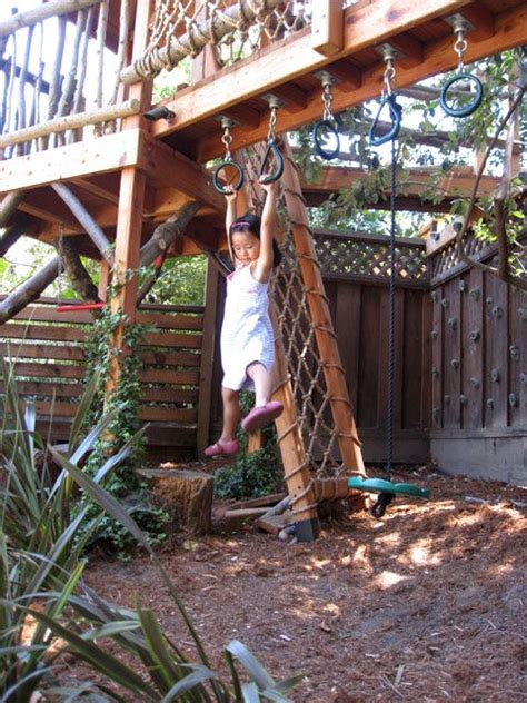 how to build a swinging bridge for kids how to build a rope bridge for kids woodworking projects