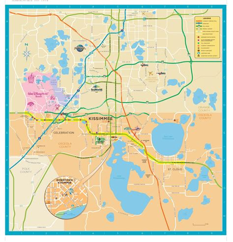 Osceola County Fl Search Trail Maps Wiki Florida Osceola County