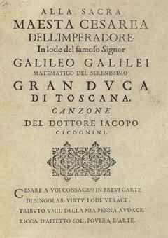 galileo galilei biography book galileo his life in six rare first editions christie s