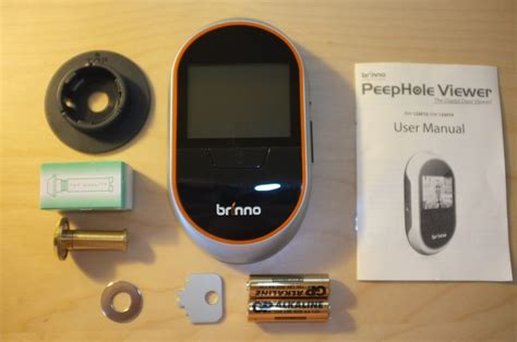 Front Door Peephole Viewer Brinno Peephole Viewer Phv1330 Review The Gadgeteer