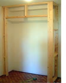 home dzine bedrooms build a built in cupboard closet or