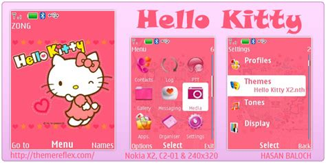 themes nokia hello kitty hello kitty themes for nokia c3