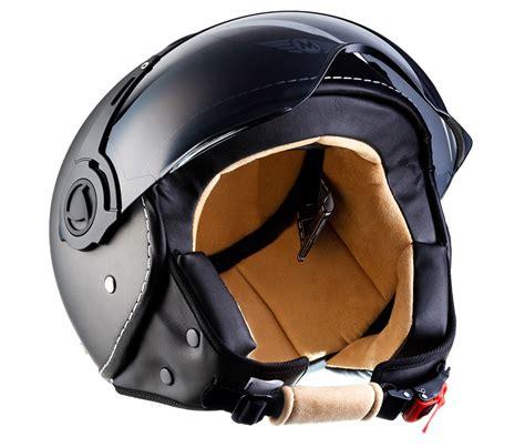 casco moto cuero casco demi jet cuero scooter vespa scooter helmet moto h44