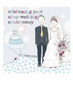 silver wedding anniversary cards molly mae anniversary cards