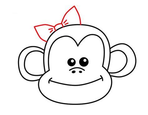 how to draw a doodle monkey как нарисовать обезьяну поэтапно карандашом схемы фото