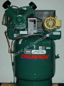 low rpm air compressor vrv10 8 10 hp 80 gal 3 phase start stop 460 volt ebay