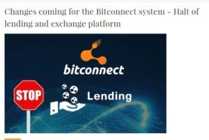 bitconnect mlm popular mlm platform bitconnect shuts down operations