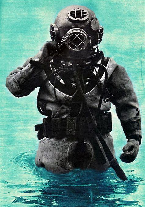 dive suit vintage diving suit