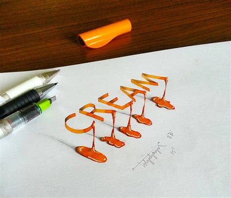 Interior Illusions Home by 3d Calligraphy Experiments By Tolga Girgin Colossal