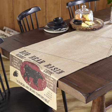 72 inch table runner big basin 72 inch table runner by s heartland