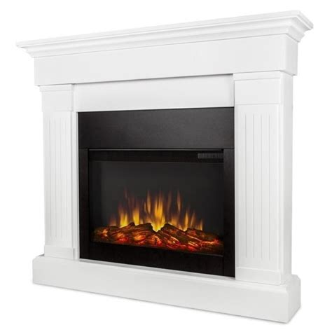 Where To Buy An Electric Fireplace by Real Electric Slim Line Fireplace In White 8020e W