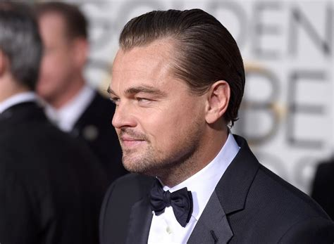 what is dicaprio s haircut called leo dicaprio is going bald