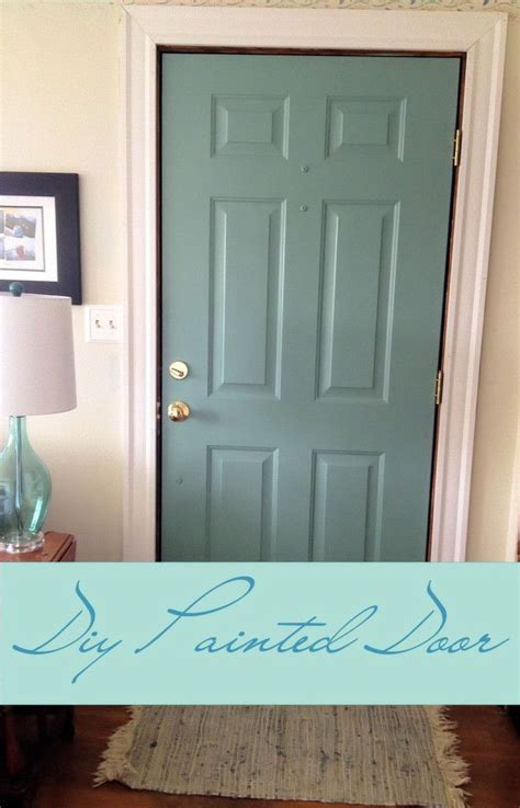 diy painted door