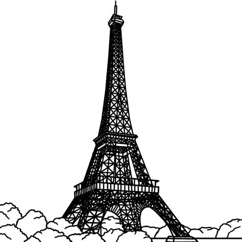 coloring pages for eiffel tower free printable eiffel tower coloring pages for kids