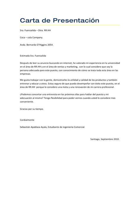 carta de trabajo mexico carta de presentaci 243 n