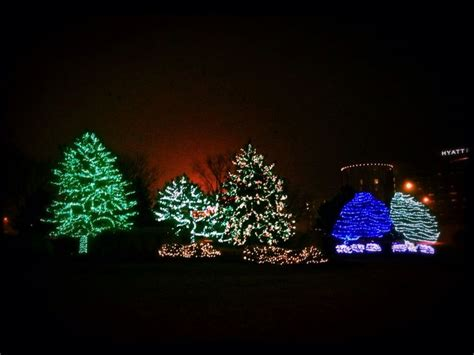 christmas lights in rosemont illinois favorite places