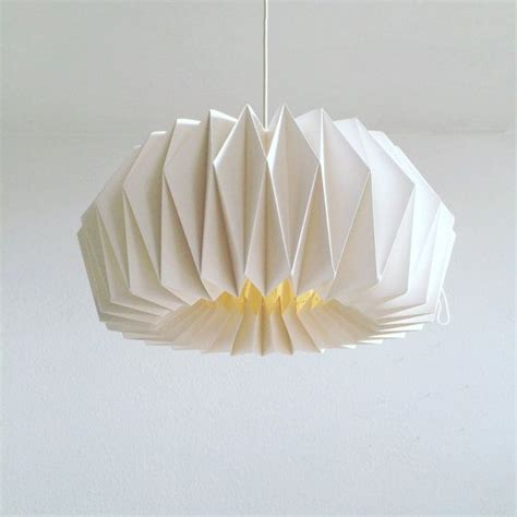 Folded Paper Light Shade - 25 best ideas about paper ls on paper