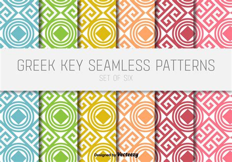 pattern greek vector greek key vector patterns download free vector art