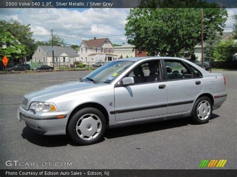 silver volvo s40 silver metallic 2000 volvo s40 1 9t silver grey