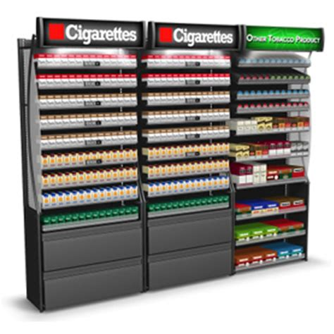 tobacco fixtures and cigarette displays for sale