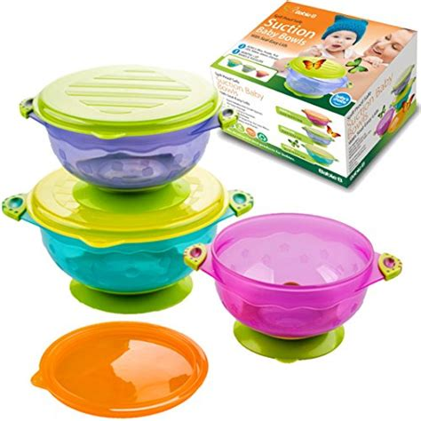 Toddler Mealset Suction Bowl Sendok Garpu babieb spill proof bowls baby spoons bajby is the leading clothes toddlers