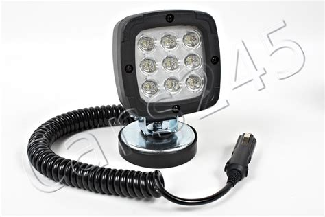 magnetic diode magnetic led working light waterproof 9 osram diodes boat yacht ship 15w 12 24v ebay