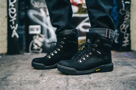 timberland fold boots timberland s iconic field boot gets a buzzy makeover