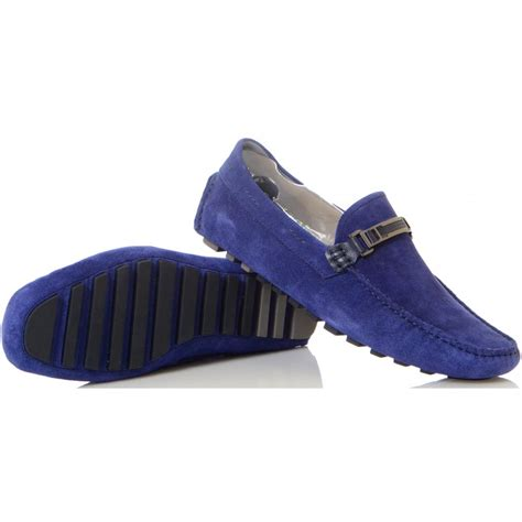 hugo blue suede loafers hugo footwear drimeto suede blue loafer hugo