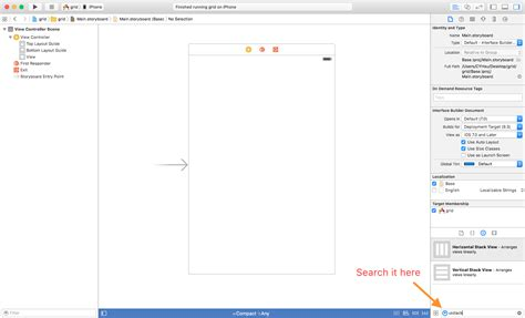 xcode set layout constraints ios storyboard constraints xcode constraints