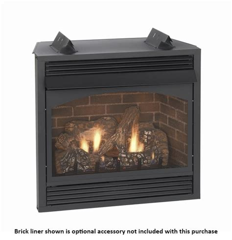 Vent Free Gas Fireplace by Empire Vail Premium Vent Free Gas Fireplace With