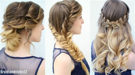 down hairstyles for graduation 3 graduation hairstyles to wear under your cap formal