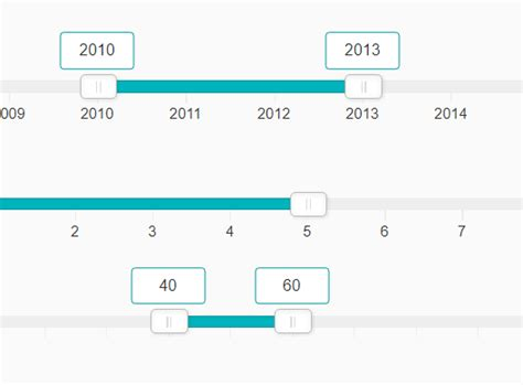 pattern javascript date animated customizable range slider in pure javascript