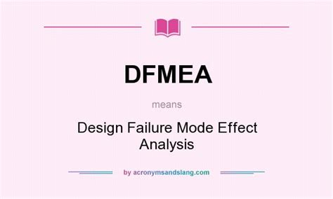 design failure mode effect analysis ppt dfmea dfmeaflow chart softwaredfmea 点力图库