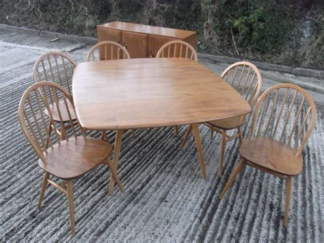 Antiques Atlas 8pce Ercol Dining Room Set Ercol Dining Room Furniture