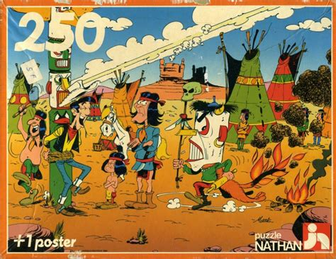 The Singing Wire Lucky Luke lucky luke puzzle