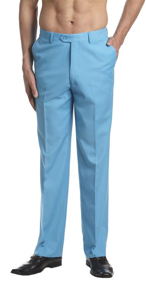 dress pants shop for mens dress pants and apparel concitor men s dress pants trousers flat front slack huge