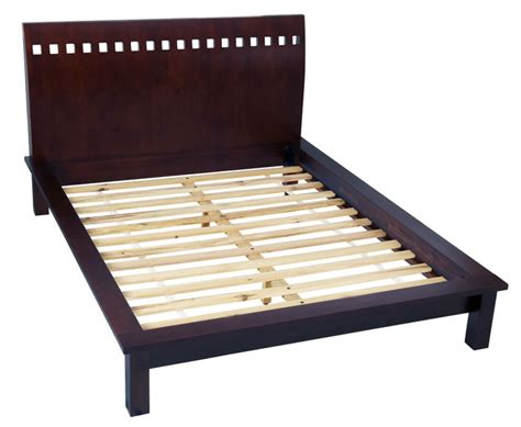 Solid Platform Bed Frame No Slats Notting Hill Platform Bed Haiku Designs