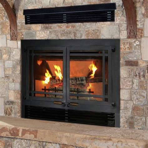 Gas Fireplace Doors by Wilkening Fireplace Wood Burning Fireplaces Fireplace