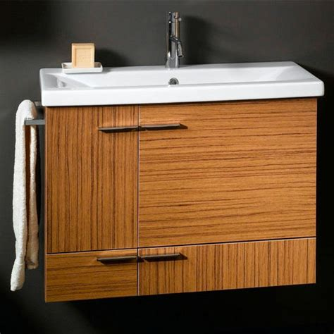 simple ns8 wall mounted single sink bathroom vanity set