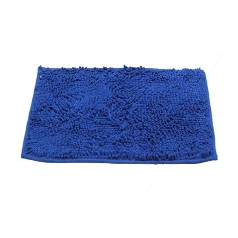 Keset Cendol Microfiber 40x60cmwarna Biru jual jacq keset microfiber biru tua harga kualitas terjamin blibli