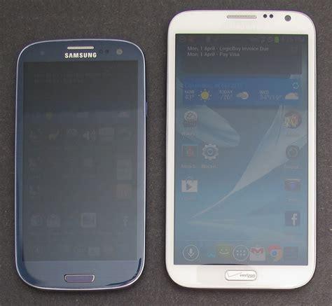 N Samsung Galaxy Julie S Gadget Diary Is The Samsung Galaxy Note Ii Big The Gadgeteer