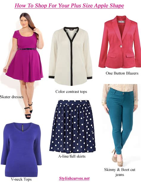 apple shaped women shopping how to dress your shape when you re plus size