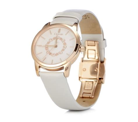 clogau 9ct gold stainless steel with leather