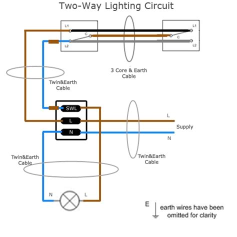 three way switch wiring diagram two lights wiring diagrams