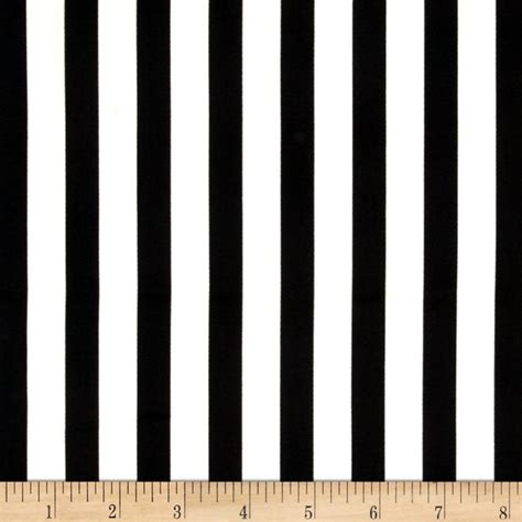Black And White Striped Upholstery Fabric by Telio Harlequin Stretch Cotton Sateen Stripes Black White