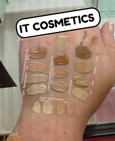 it cosmetics cc light vs medium it bye bye eye concealer corrector review