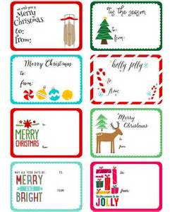 17 best ideas about christmas labels on pinterest gift