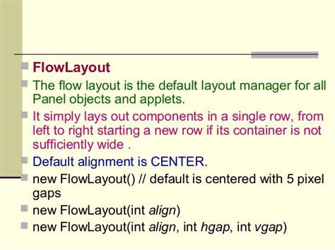event borderlayout layout managementand event handling