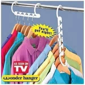8 pcs set space saver magic hanger closet organizer